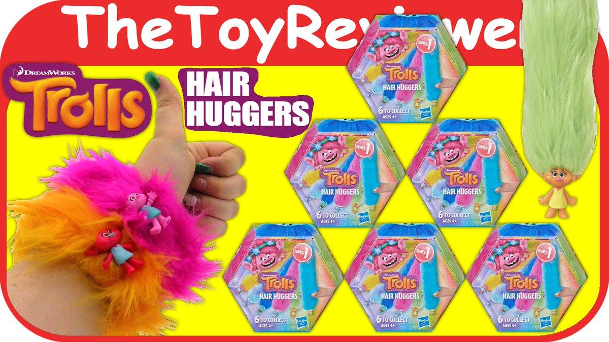 Check out the DreamWorks Trolls Hair Huggers Series 1 Slap Bands Blind Bags here: https://www.youtube.com/watch?v=NYyHuuagz2E… @Trolls @DWAnimation @Hasbro #trolls #dreamworks #hasbro #blindbags #slapbands #hairhuggers #trollshairhuggers pic.twitter.com/zWprQkmpVS