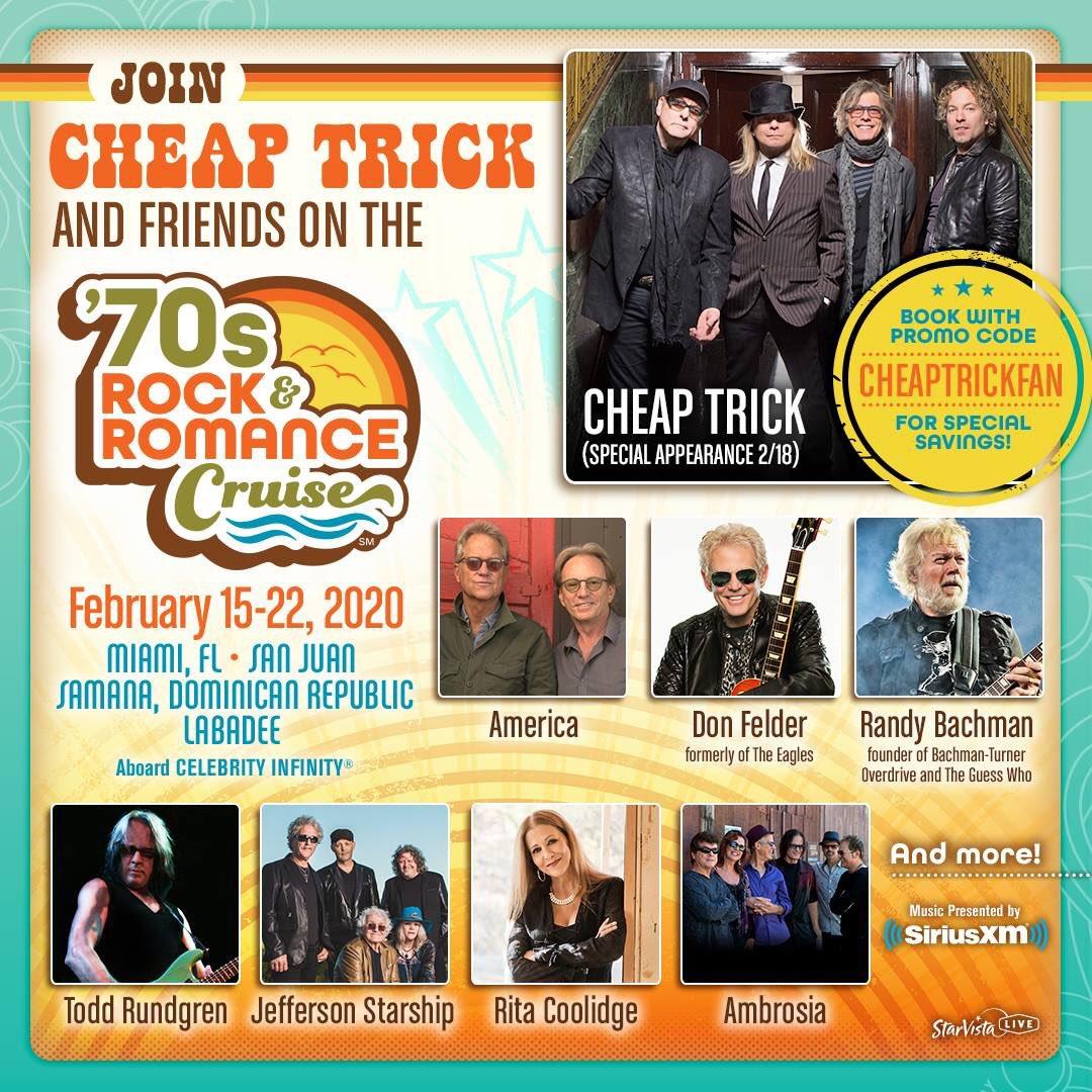 Rock And Romance Cruise 2020.Mitch Lafon On Twitter The 70s Rock And Romance Cruise