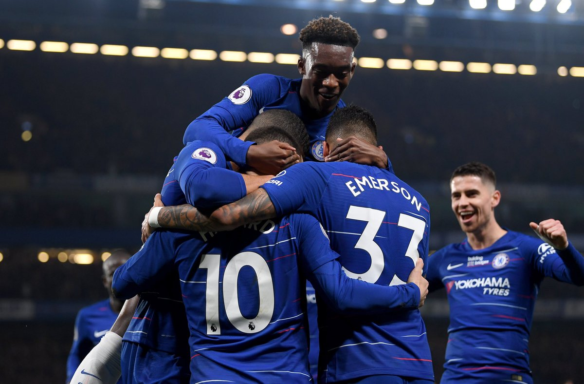 Massive 3pts today in a tough match, clean sheet and great team performance🔥👊🏾⚽️ well done to the king 👑 @hazardeden10