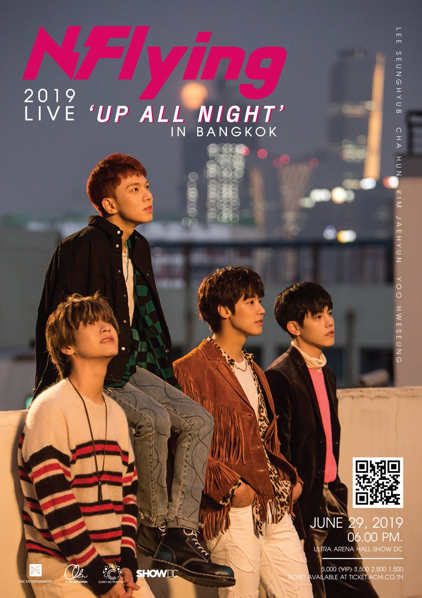 2019.06.29 2019 N.Flying LIVE 'UP ALL NIGHT' IN BANGKOK >> fncent.com/b/notice/38416 #NFlying #엔플라잉