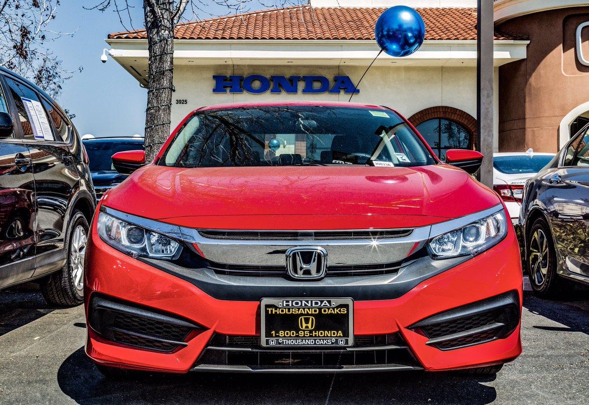 Honda Thousand Oaks >> Honda Of Thousand Oaks Hondaof1000oaks Twitter
