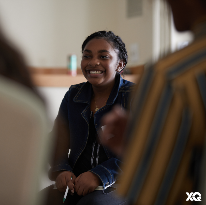 """""""My school focuses on curriculum a lot. That's OK but I want to be a doctor, and sometimes I think I might not be learning everything I need — like how to apply for college, how to do taxes, that kind of thing,"""" said Brooke, HS junior at #XQLive San Diego https://medium.com/xqamerica/highlighting-youth-and-student-voice-high-school-b49e1058ba4d…"""