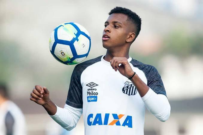 Santos Daily's photo on Rodrygo