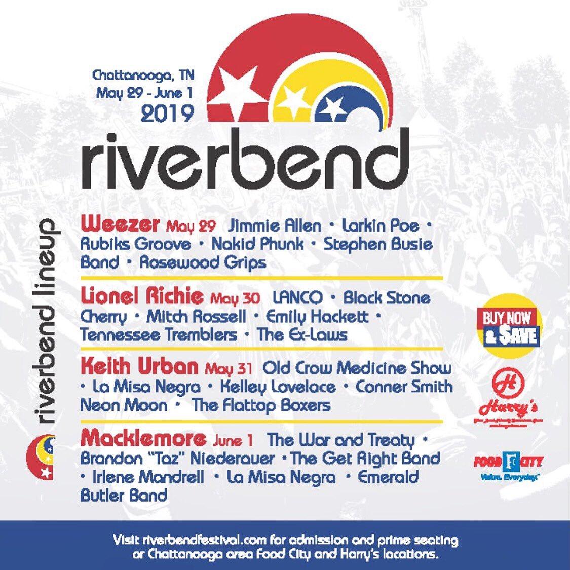 Riverbend Festival 2020.Thestephenbusieband Tsbb Music Twitter