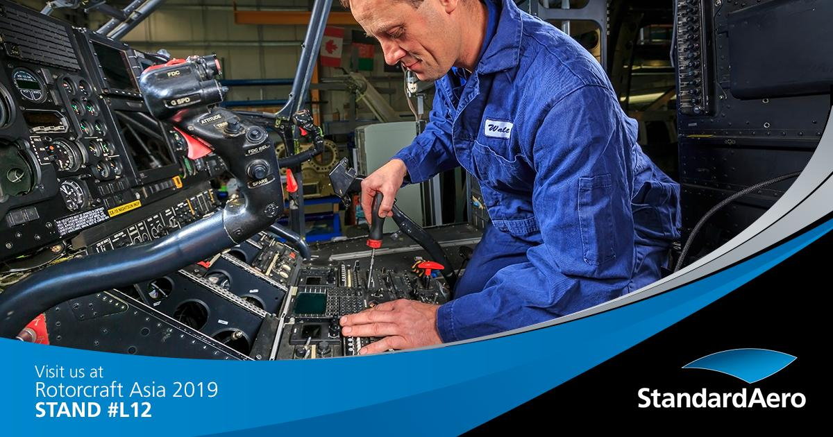 Come visit with our team at #RotorcraftAsia2019! Stop by stand L12 to learn more about our dynamic component repair capabilities, airframe MRO, STC upgrades and more! https://t.co/ekLLiWF4ev