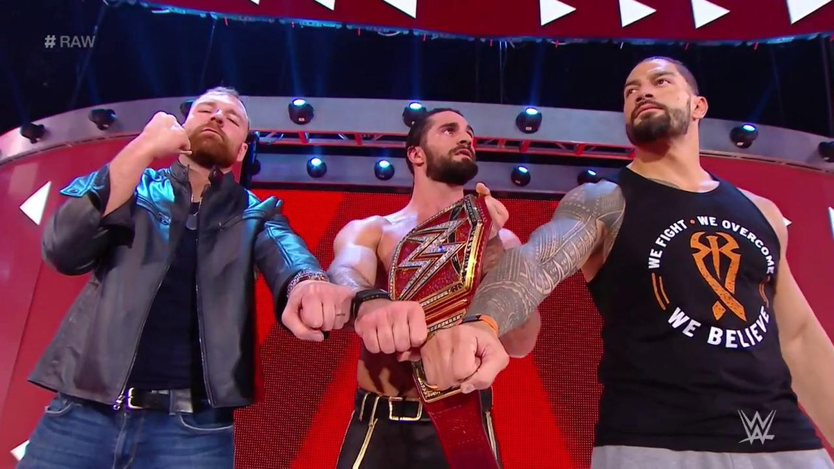 The Shield Reunites After WWE RAW, Dean Ambrose Takes A Bow, Roman Reigns' Reaction (Video)
