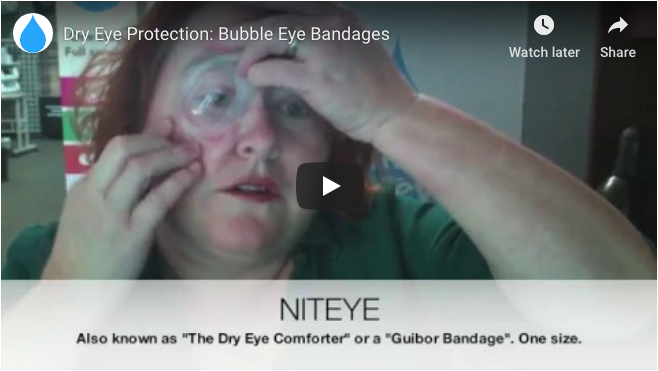 2a3dd0351af3 ... are bubble eye bandages useful for  Read up or watch a handy video to  find out which  dryeye patients may be likely to benefit.  https   bit.ly 2D5Pd1x ...