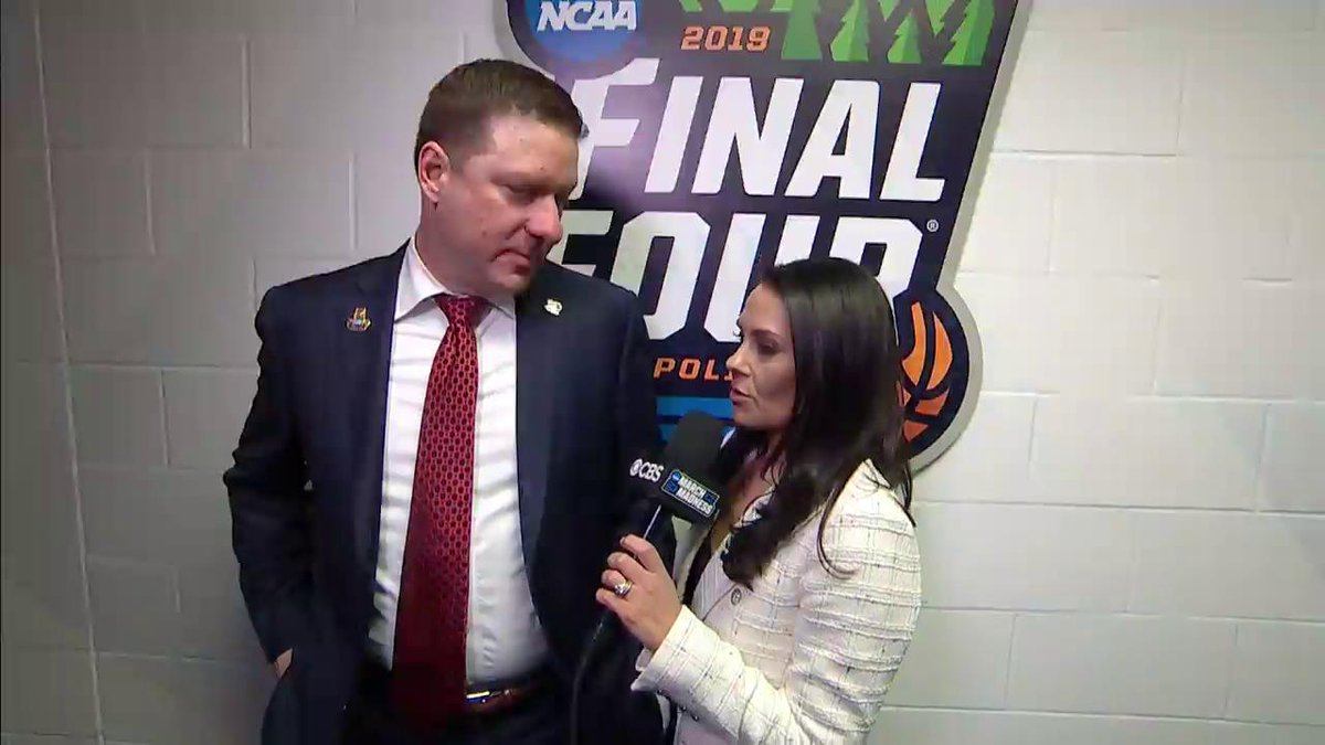 """""""I'm just so proud to be these guys' coach.""""   Chris Beard was incredibly gracious in defeat."""