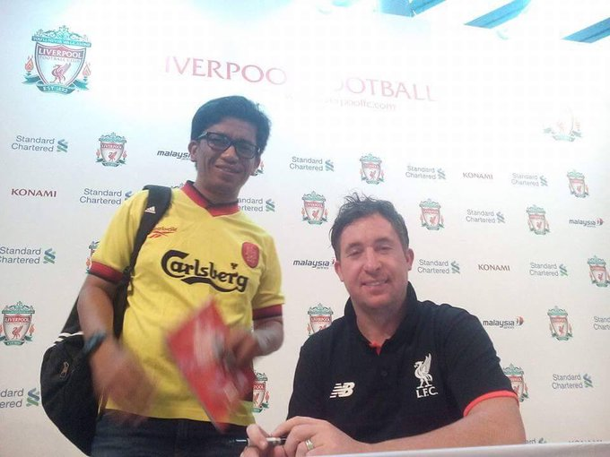 Happy birthday to God himself, Robbie Fowler.