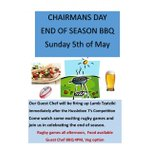 Image for the Tweet beginning: Chairmans Day BBQ