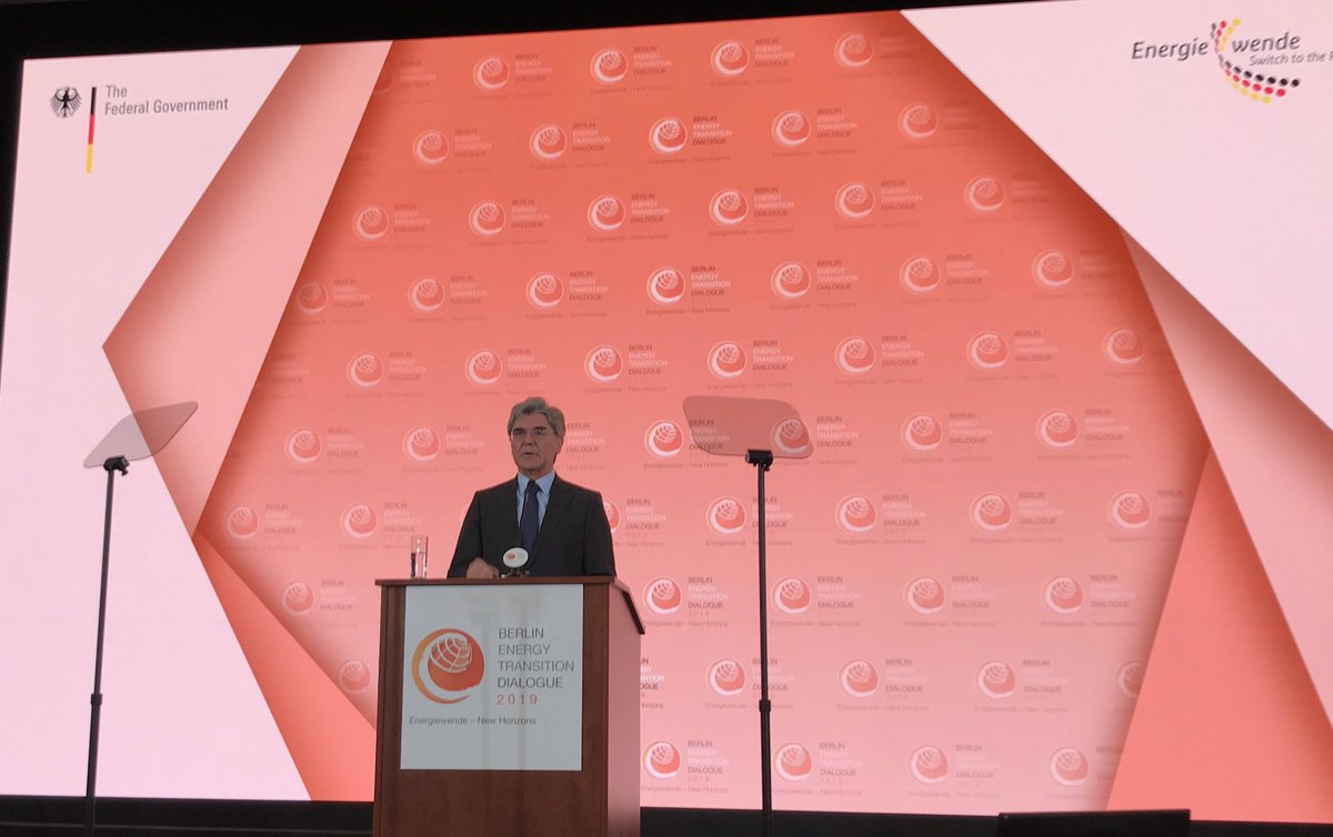 """We need even closer cooperation between politics, business and civil society. Only if we act together will we be able to leave a better planet behind for future generations"" said @Siemens CEO @JoeKaeser @GermanyDiplo #betd2019 https://sie.ag/2FYnwsd   #EnergyTransitionDialogue"