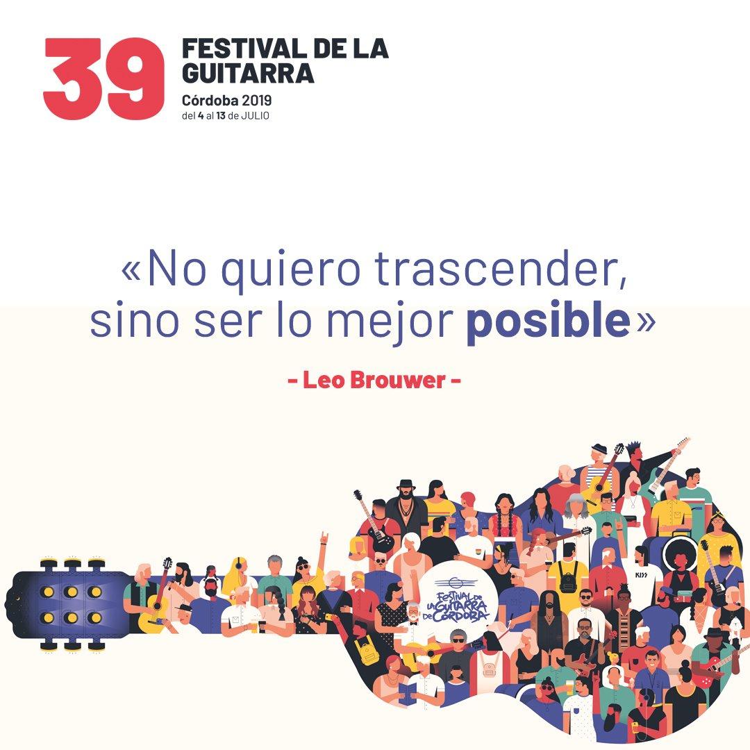 Guitar Festival On Twitter Con Motivo Del 80 Cumpleaños
