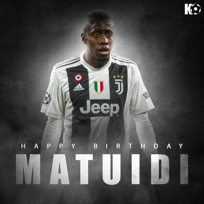 Join in wishing Juventus star Blaise Matuidi a Happy Birthday!