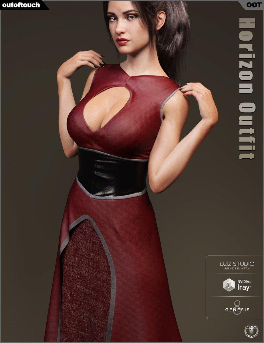 a7d0974faa58 Daz Studio - dForce Horizon Outfit for Genesis 8 Female  http://bit.ly/2Z0hOin #daz3d #dazstudio3 #genesis #cganimation #posermodels  #3dartist ...