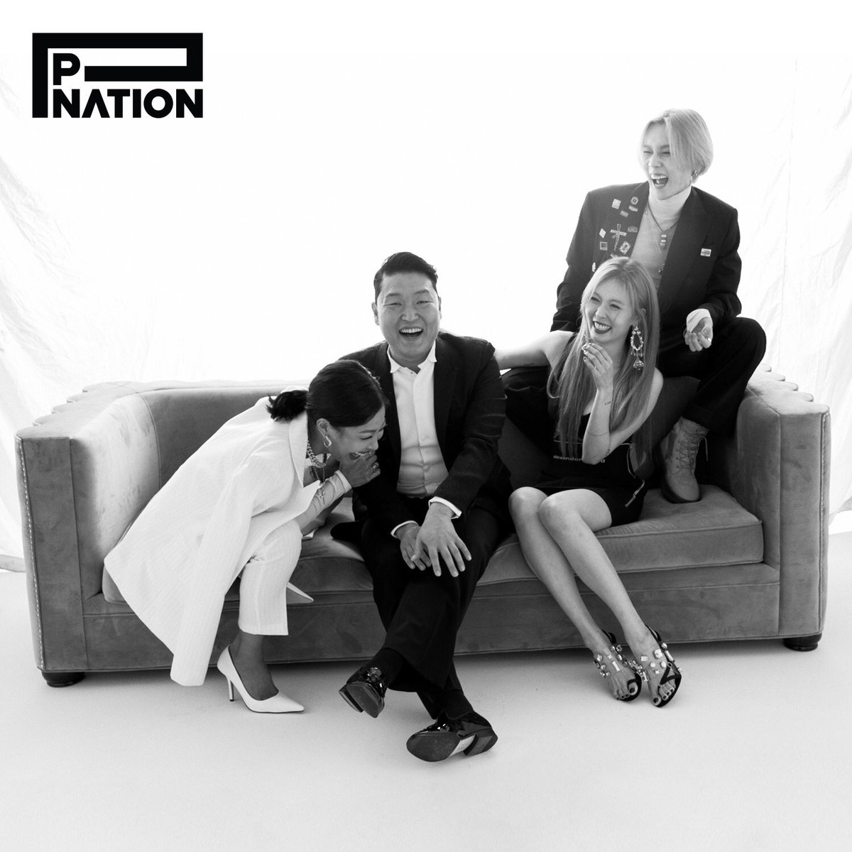 #pnation #powerhouse #laughter #Jessi #PSY #HyunAh #Edawn