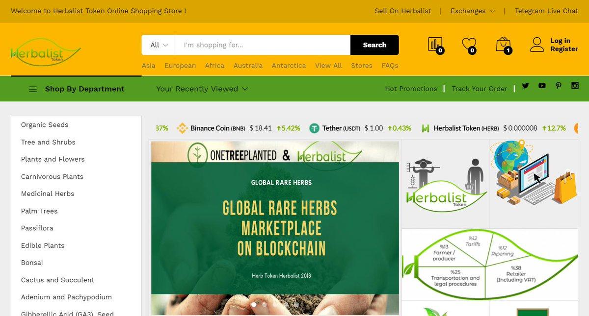 Herbalist Token News https://t.co/JgYlR4WCPm  @Aurora_dao @Hotbit_news @mercatoxnews @AlmeePOSTR @almeedexchange  @ProBit_Exchange  #crypto #MarketingStrategy #Marketing #blockchain #btc #eth #herb #airdrop #coin @CoinMarketCap