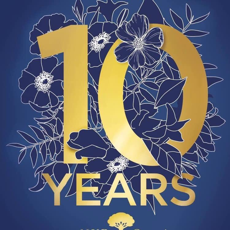 Happy Birthday NYR Organic💙Had lots of fun  in my 10 Years as an Independant Consultant &Leader.Lots of birthday offers, 10% off our top ten, and exclusive  Birthday Collections .Look @AliNYROrganicUK  celebrating 10 years @nyrorganicuk #ShareTheLove
