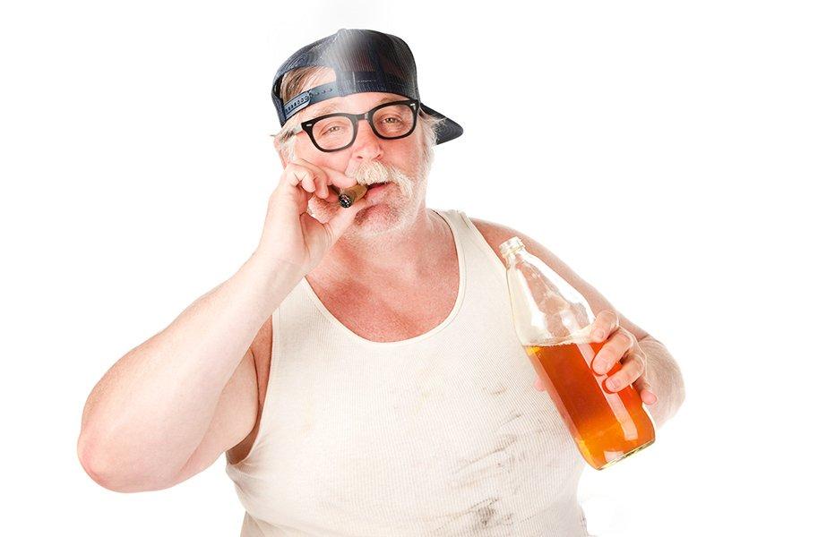 предыдущих толстый мужик с сигаретой фото всей семьёй