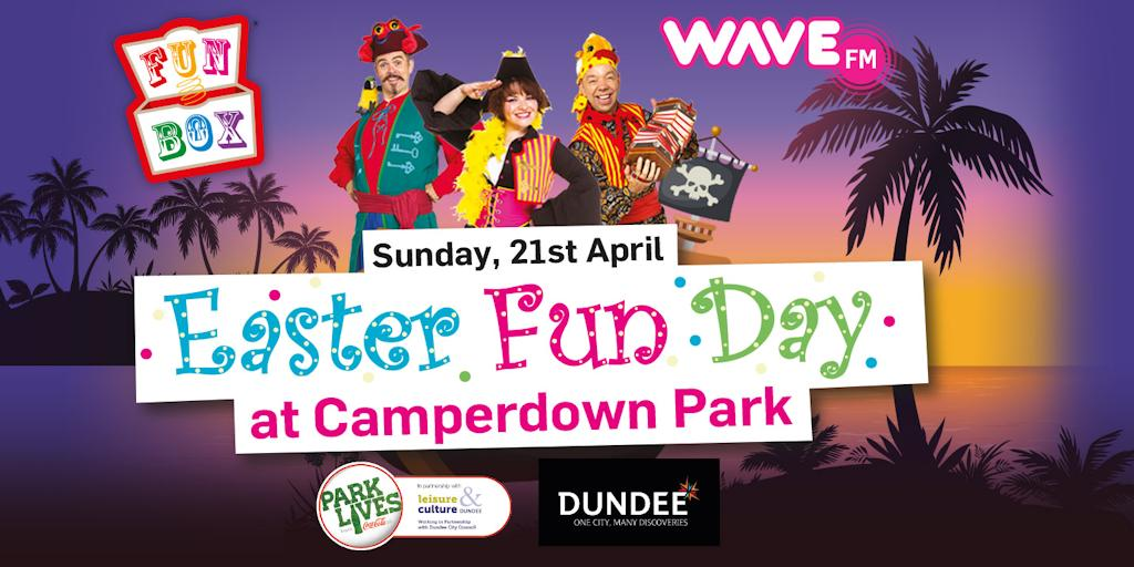 Easter Fun Day is back for 2019! Come along and join in the fun at Camperdown Park on Sunday 21st April from 12-4pm. This is a free event packed with lots of egg-citing activities for all the family.  For more information, please visit: https://www.dundeecity.gov.uk/easter-fun-day-2019 …
