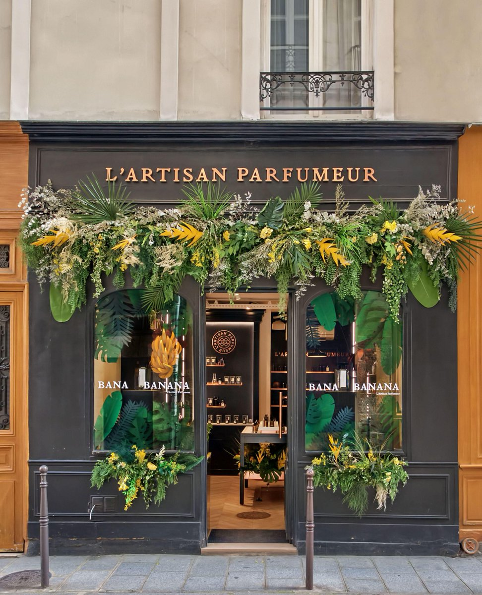 L'Artisan Parfumeur invites you into its stores to discover Bana Banana, the never commercialised fragrance that started its story. #banabanana https://t.co/lhBda2qPmM https://t.co/Sy4wANM8hi