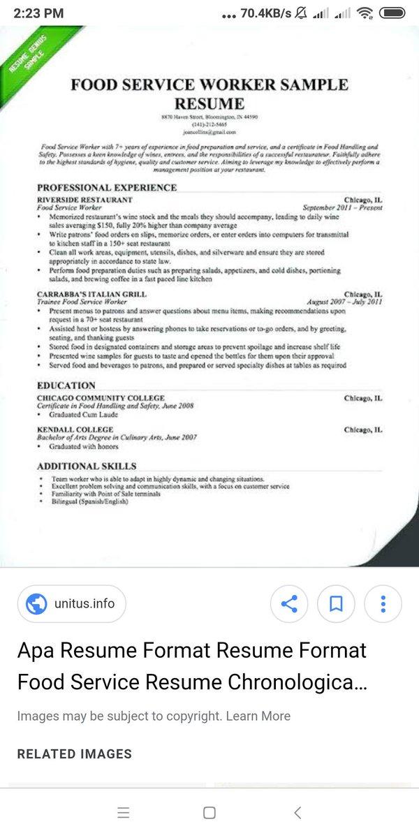 HRD Bacot On Twitter Bagi Yang Ingin Bikin CV Sendiri Gue Cuma