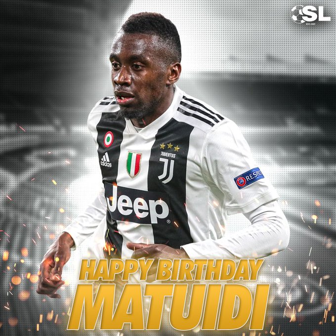 Happy Birthday to Juventus midfielder, Blaise Matuidi!