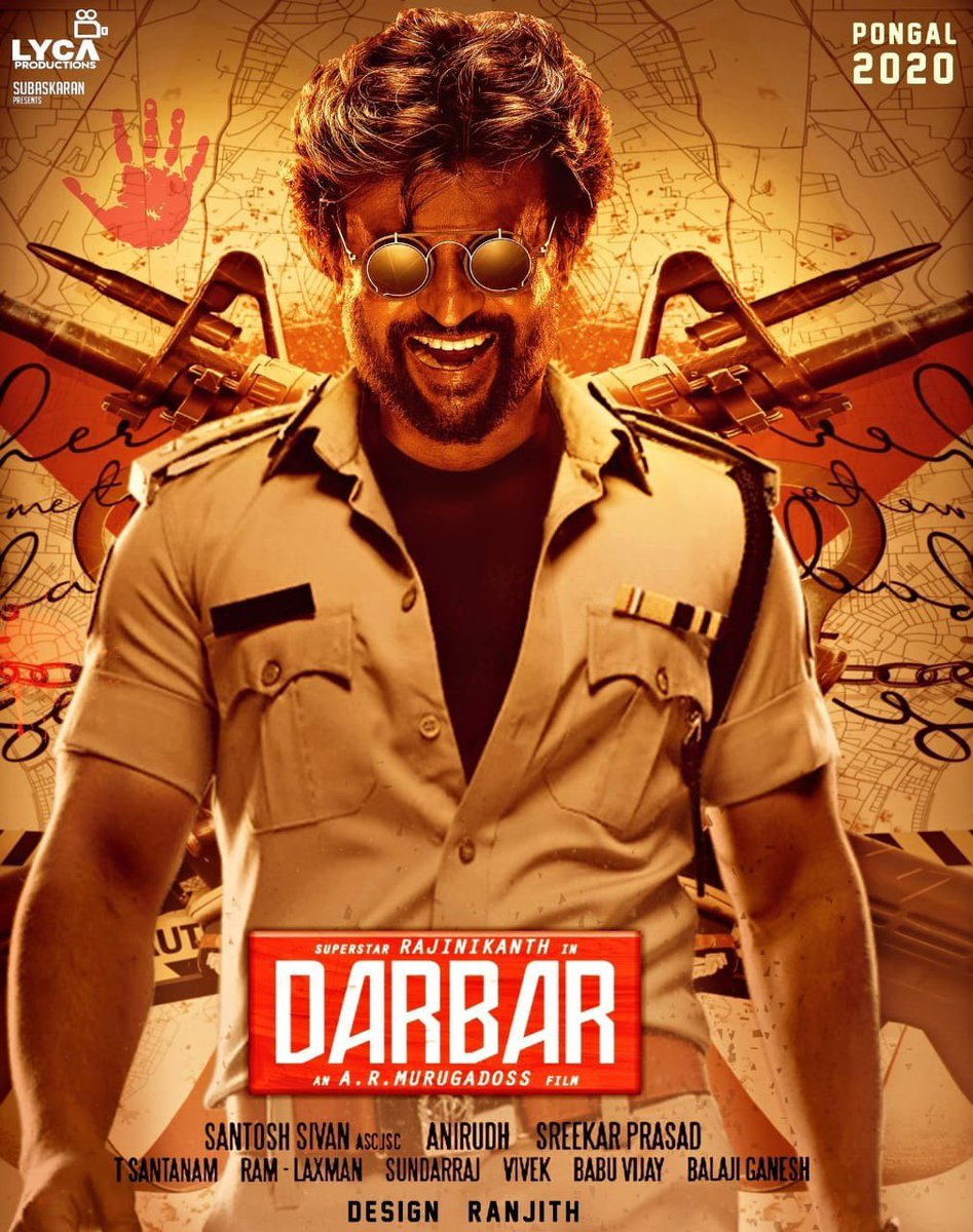 Image result for Darbar + Poster
