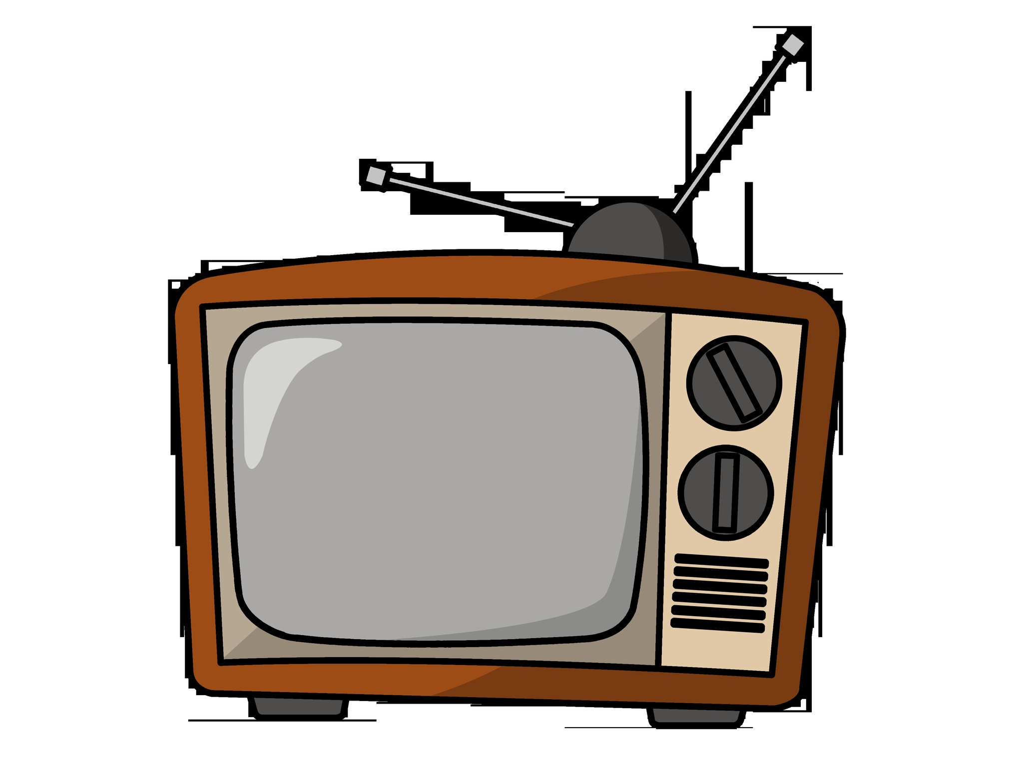 Телевидение картинки для детей нарисованные