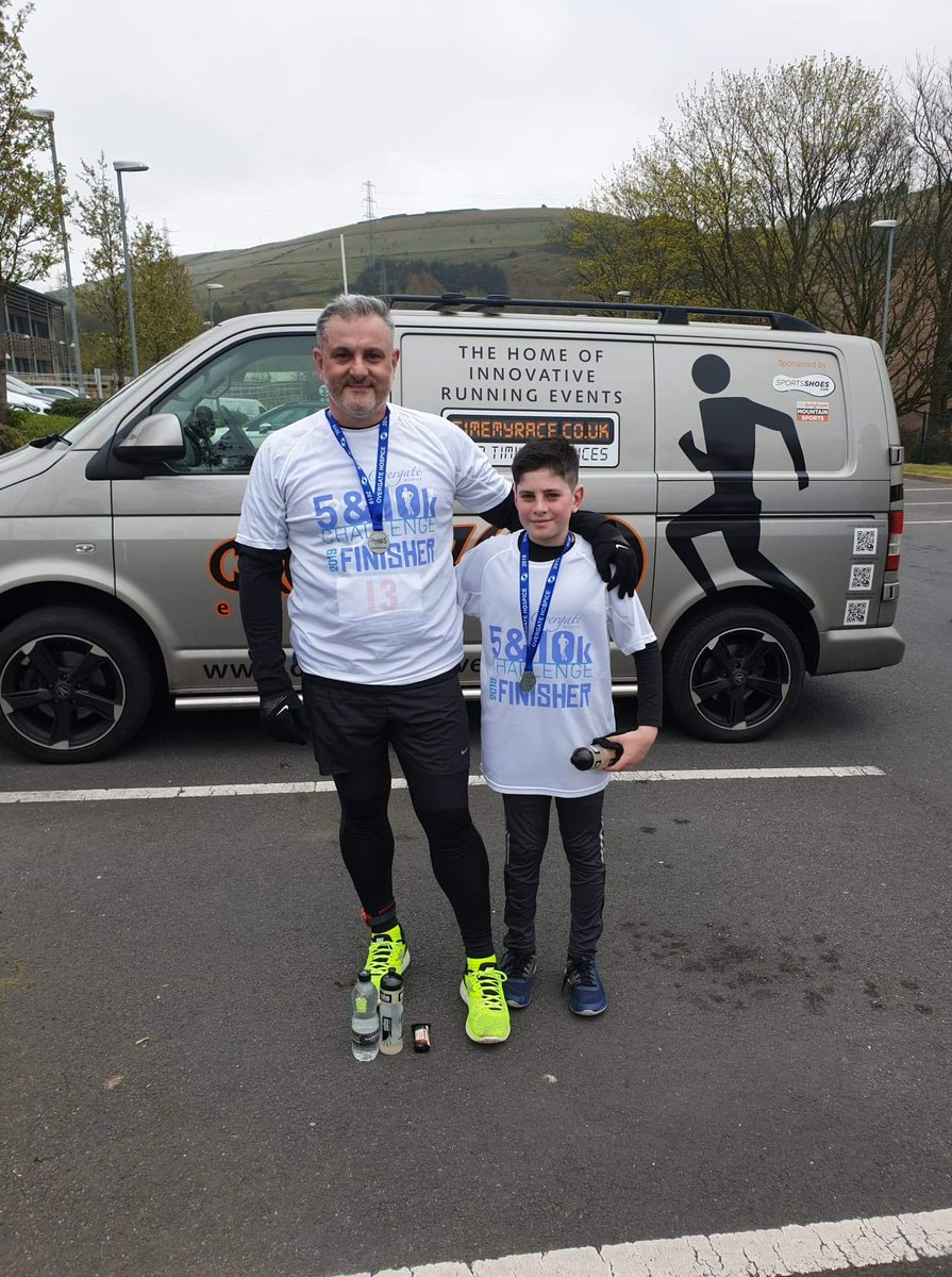 Trinity Academy would like to congratulate Callum Johnson and his Dad who completed the 5K Overgate challenge on Sunday! He managed to raise £425 for Overgate Hospice, and we, along with his parents are incredibly proud of his achievements #keeponrunning!