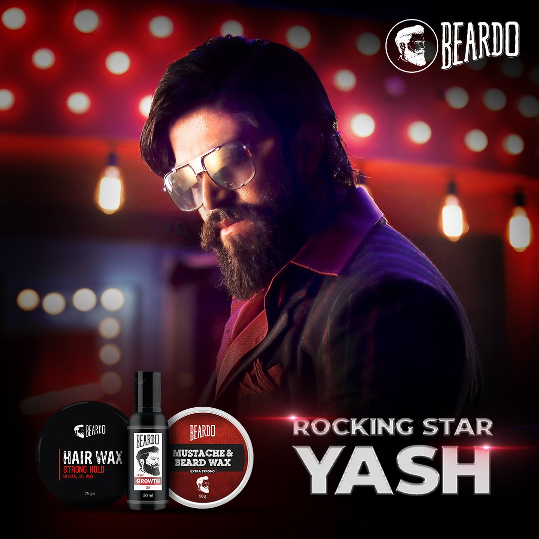 We are proud to welcome The Rocking Star Yash to the #Beardo family!