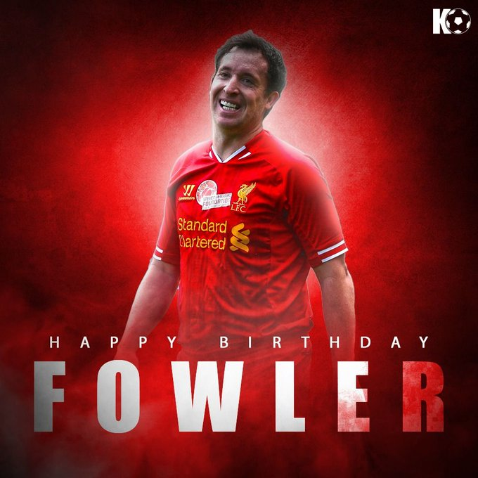 Join in wishing Liverpool legend Robbie Fowler a Happy Birthday!