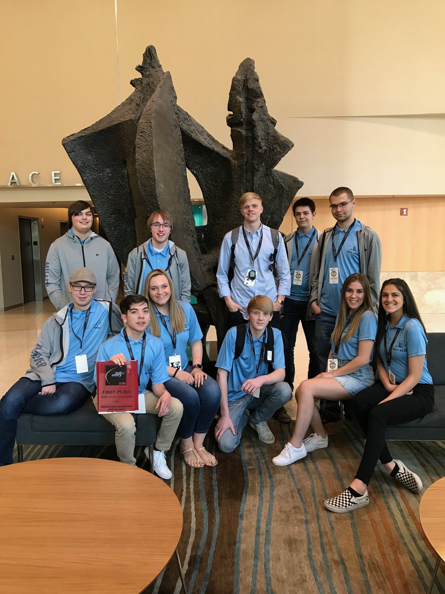 f8643be48460 East High s TBTV program sent 11 students to the Student Television Network  Convention in Seattle. The TBTV crew earned the Intermountain Region  Broadcast ...