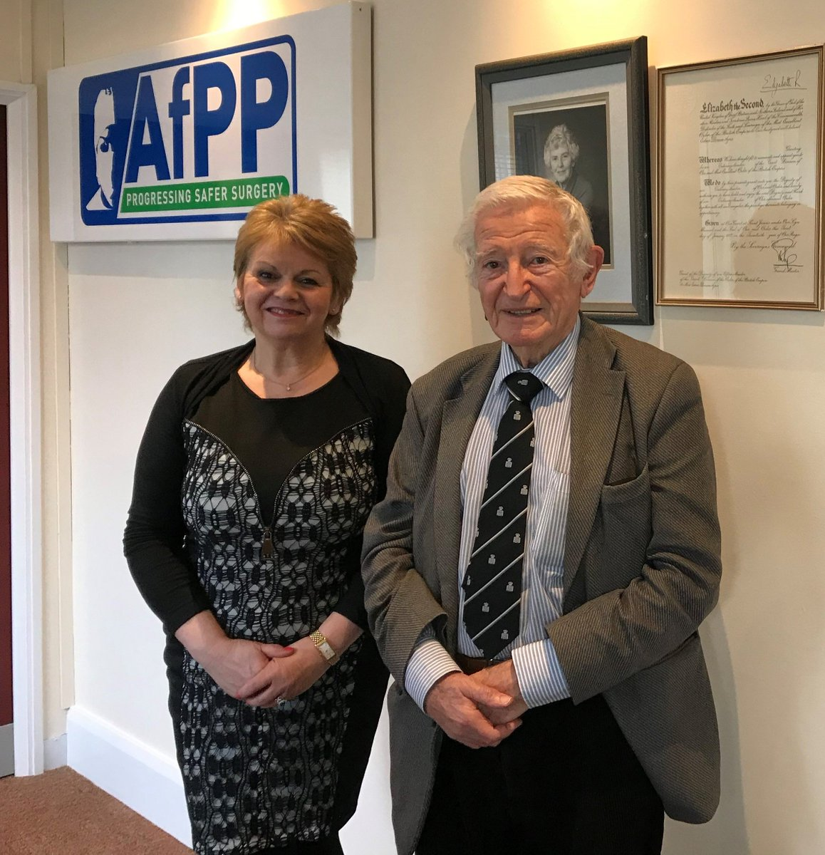 Safersurgeryuk On Twitter Today Was A Historic Day For Afpp We Welcomed Professor Harold Ellis To Talk About The Many Articles That He Has Written For The Journal And Discuss New Opportunities
