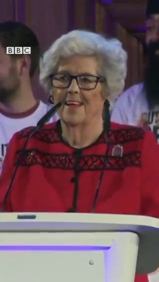 """""""Nobody voted for this mess... I blame the charlatans who peddled the falsehoods that [Brexit] would be easy. I wouldn't trust them to run my bath, let alone the country""""  Baroness Boothroyd makes the case for a 'people's vote' on #Brexit  [tap to expand]"""