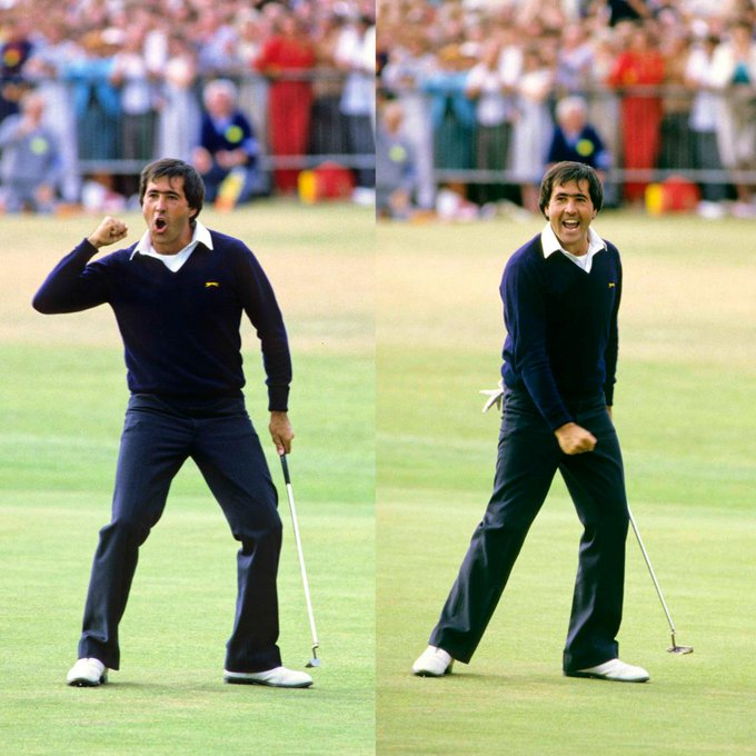 35 years ago...  Happy Birthday to the late, great Seve Ballesteros.