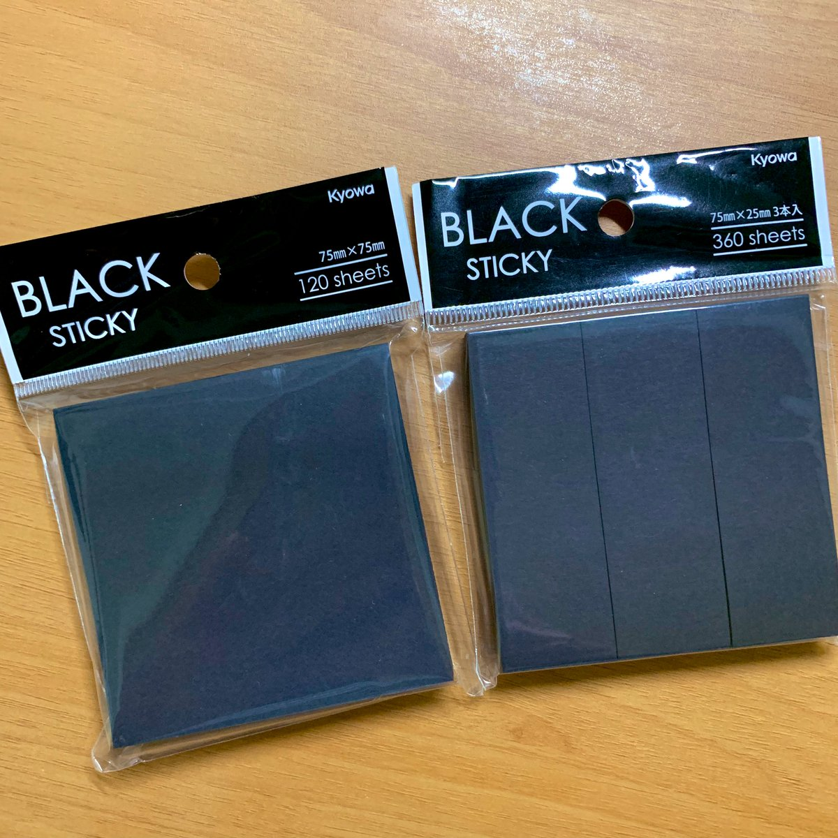 test ツイッターメディア - セリアで黒い付箋みつけて面白そうだったので買ってみました。これはいろいろ使えそうな予感…!!🔥🔥🔥  #セリア #seria #100均 #unisigno #シグノホワイト https://t.co/65XuvLfkiS