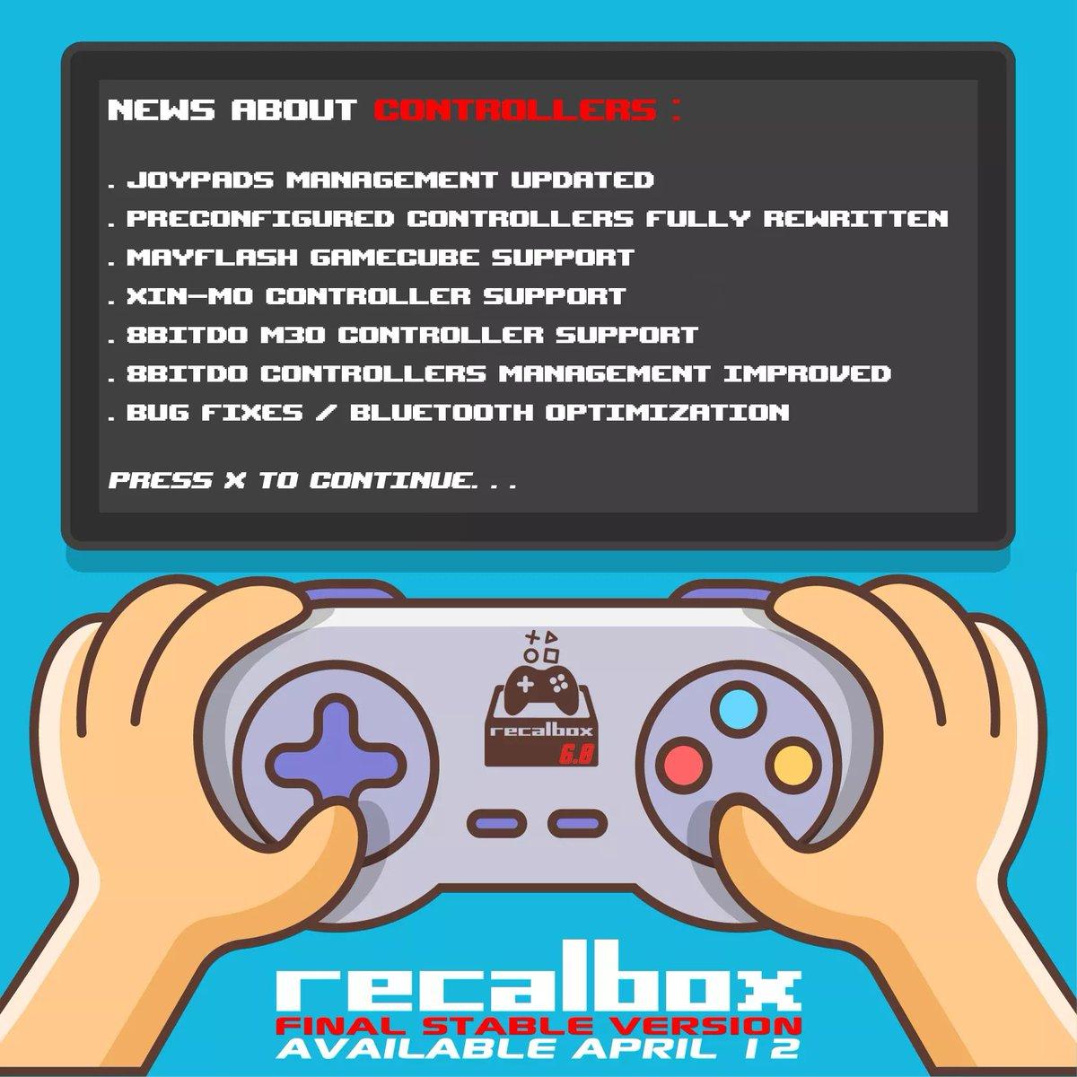 Recalbox Web Browser