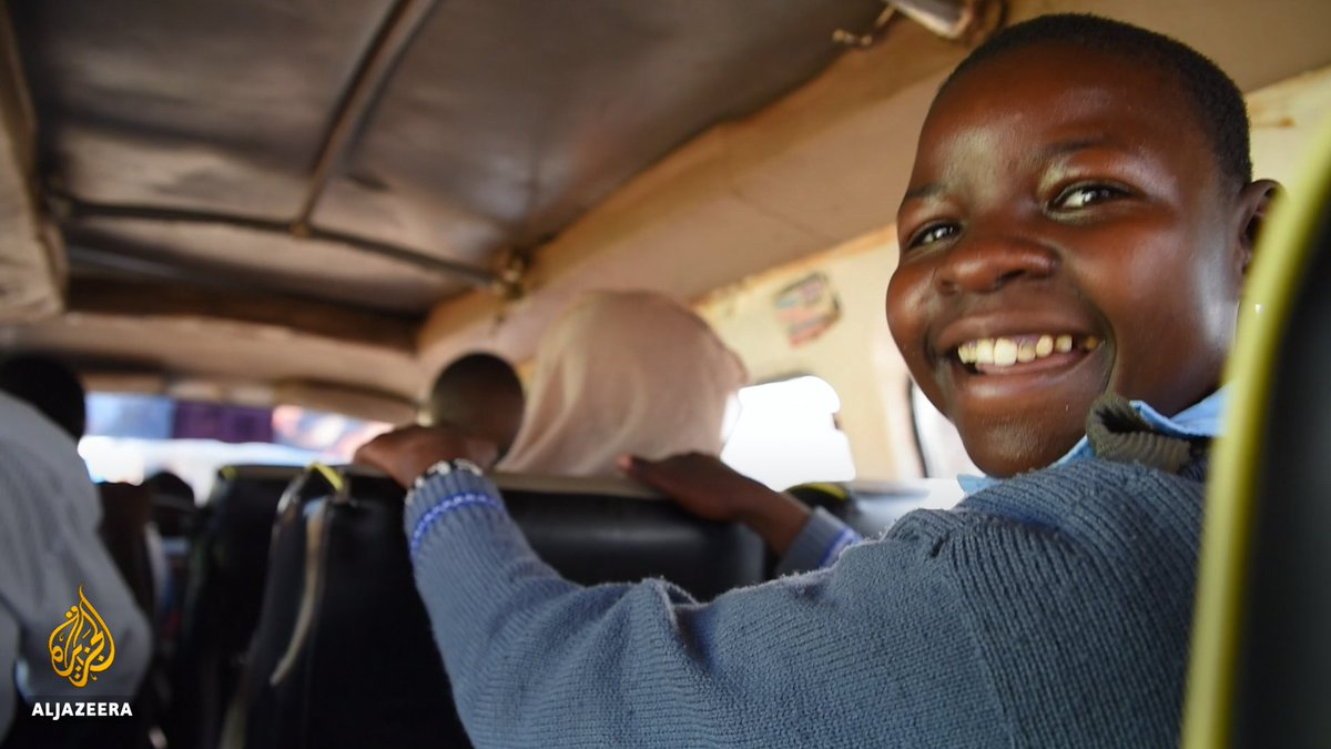 Real hero ⬇️ Stanley Motanya Okinyi, a Kenyan bus driver, has made it his mission to ensure children with disabilities get to school every day.