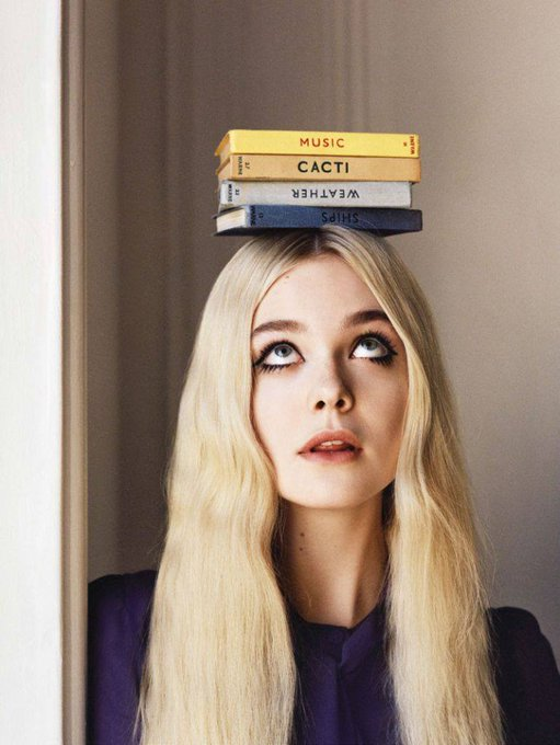 Happy Birthday to Elle Fanning who turns 21 today! Photo by Angelo Pennetta.