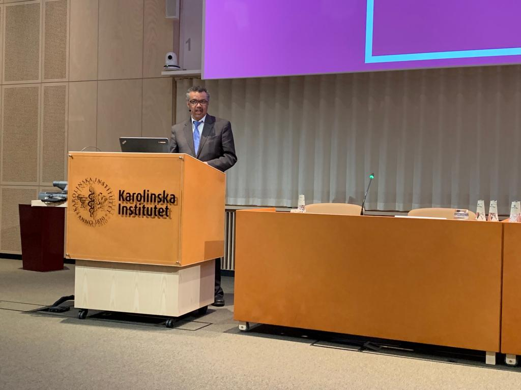 We must acknowledge that scientific facts on their own are not enough to change hearts, minds and behaviour. The current epidemic of misinformation about vaccines demonstrates that. -@DrTedros in his speech at @karolinskainst in #Sweden 🇸🇪