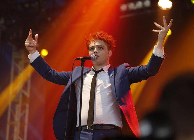 Happy Birthday to Gerard Way of