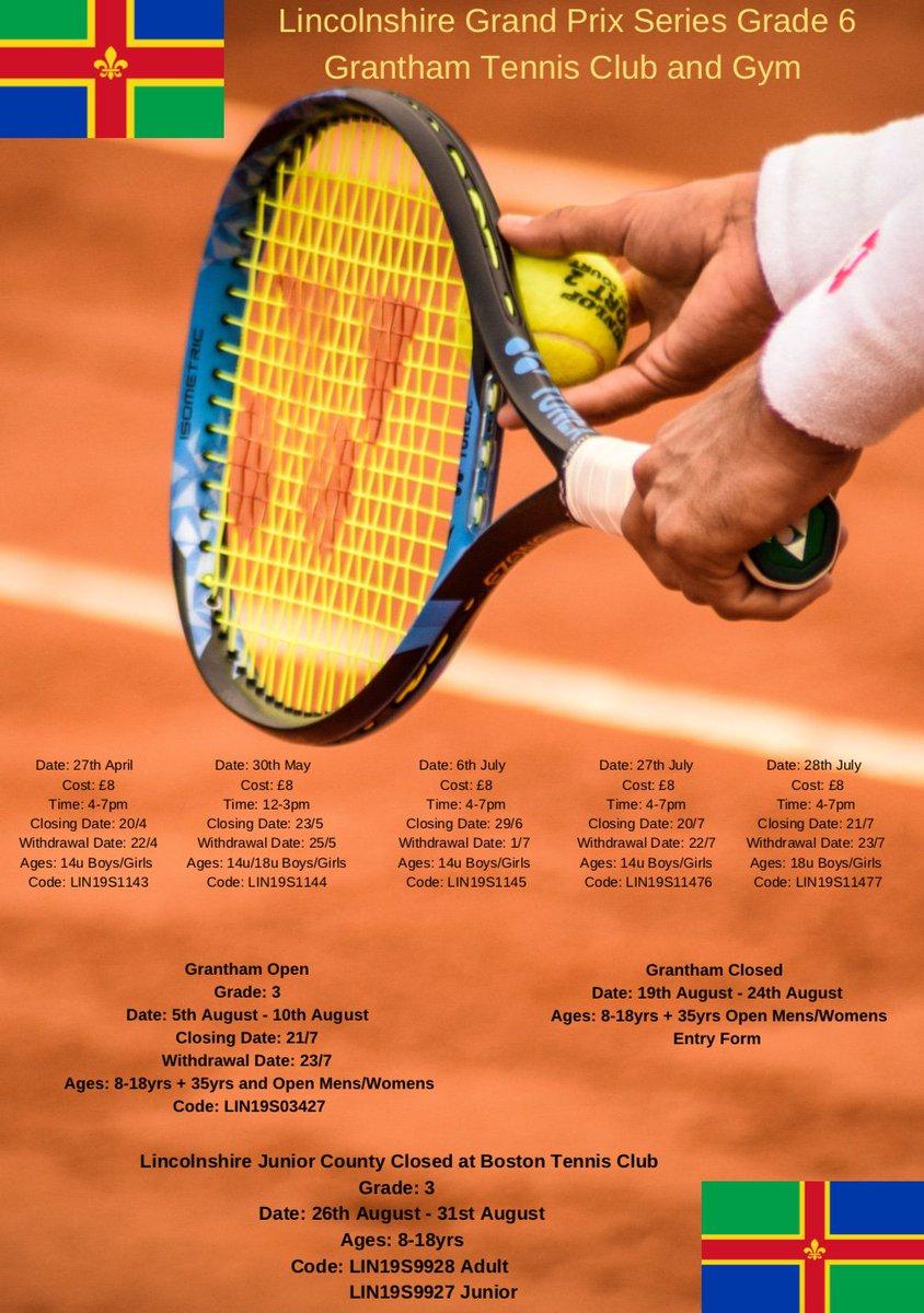 366b1a06060 Grantham Tennis Club   Gym ( GranthamTennis)