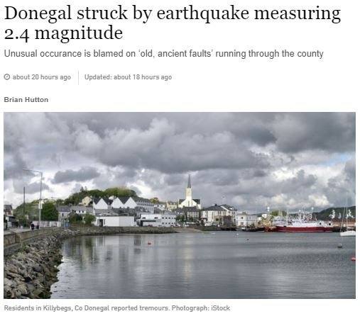 test Twitter Media - There has been lot's of coverage of the Donegal Earthquake recorded by the Irish National Seismic Network run by @DIAS_Dublin in @irishexaminer, @beat102103 @breakingnewsie @OceanFmIreland @buzzdotie and this piece from The @IrishTimes - https://t.co/0fV9hwWfTR #DIASdiscovers https://t.co/d4dDX0J60Q