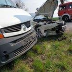 Image for the Tweet beginning: #Wypadek na #DK11 w #Górzno