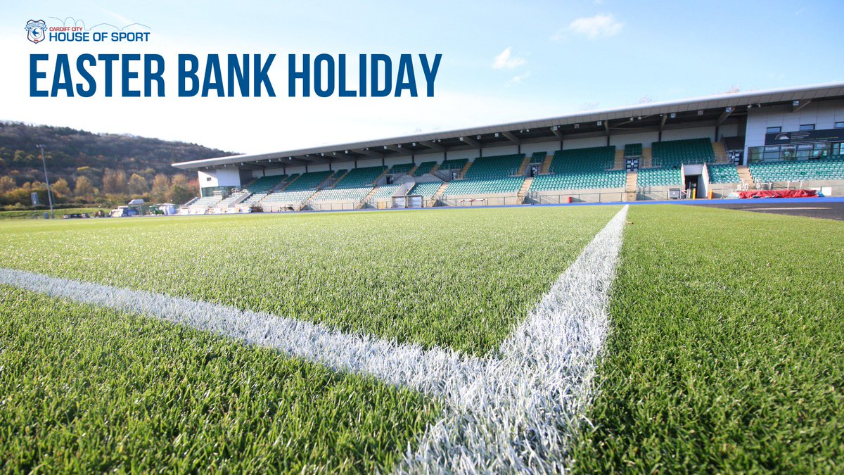 📅 | Cardiff City House of Sport, including @CDFSportsCampus, will be closed on Friday 19th & Monday 22nd April for Easter bank holiday weekend. 🚫  More info 👉 http://bit.ly/2VwWkrd