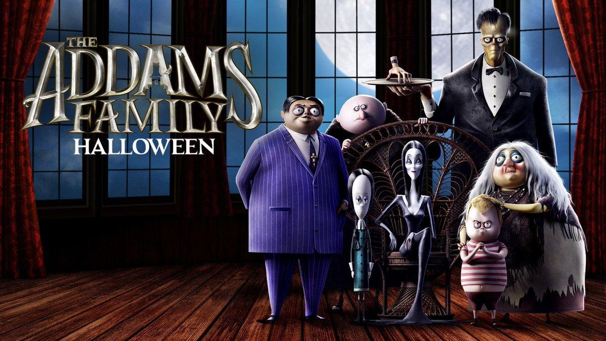 They're creepy and they're kooky, mysterious and spooky. The Addams Family in theaters this Halloween 🕷🖤 #MeetTheAddams