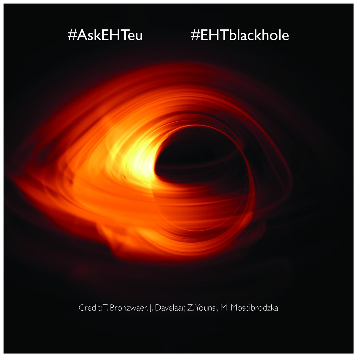 first black hole picture - HD2048×1455
