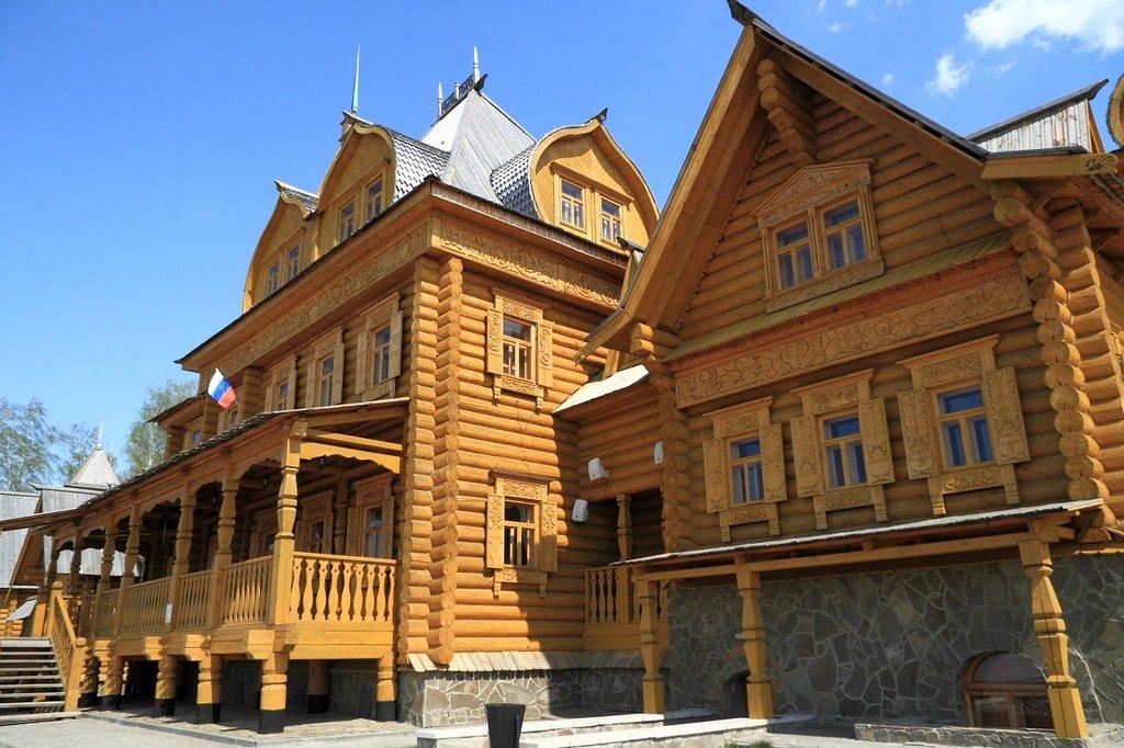 фото русских домов из дерева отказываются