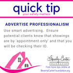 Small changes to your advertising & outreach can set clear, professional boundaries.  📣💗