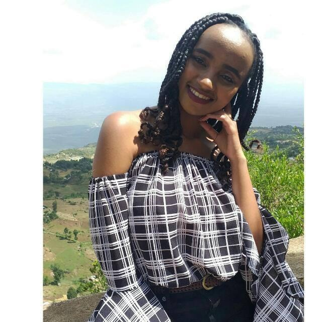 Moi University Female Student, Kenya Hacked By Boyfriend In Broad Day Light